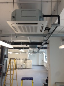 Oxford University Air Conditioning Unit Installation