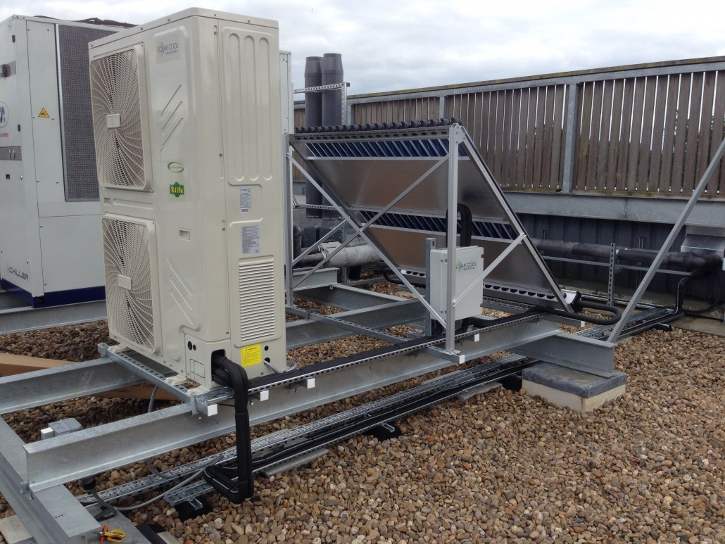 Solar Cool Air Condition Unit in Oxford